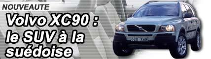 Volvo XC 90, le SUV à la suédoise