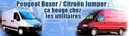 Peugeot Boxer / Citroën Jumper : ça bouge chez les utilitaires