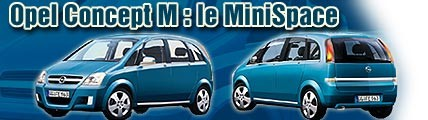 Opel Concept M : le MiniSpace