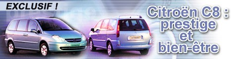 Citroën C8 : prestige et bien-être