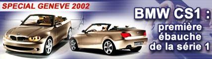 BMW CS1 : première ébauche de la série 1