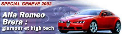 Alfa Romeo Brera : glamour et high tech