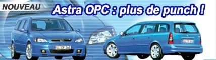 Opel Astra OPC : plus de punch !