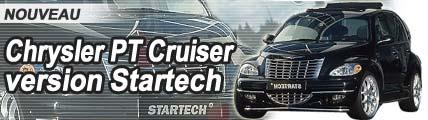 Chrysler PT Cruiser : la préparation Startech !