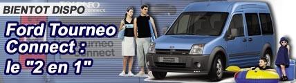 Ford Tourneo Connect, le 2 en 1