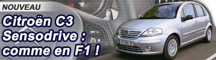C3 SensoDrive : comme en F1 !