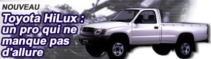 Toyota Hilux, un pro qui ne manque pas d'allure