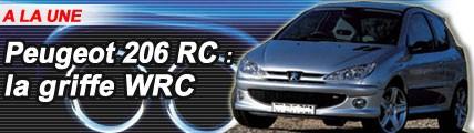 Peugeot 206 RC : la griffe WRC