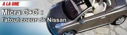 Micra C+C : l'atout coeur de Nissan