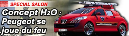 Concept H2O : Peugeot se joue du feu