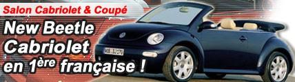 New Beetle Cabriolet : la bête à bon dieu se découvre