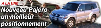 Mitsubishi Pajero : un meilleur positionnement