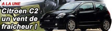 Citroën C2 : un vent de fraîcheur