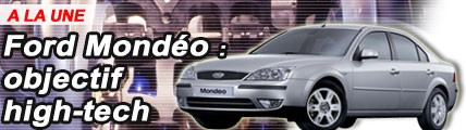Ford Mondeo : objectif high-tech