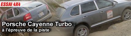 Essai/ Porsche Cayenne Turbo : à l'épreuve de la piste