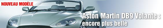 Aston Martin DB9 Volante : encore plus belle