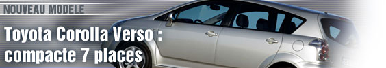 Toyota Corolla Verso : compacte 7 places