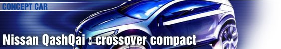 Nissan QashQai : crossover compact