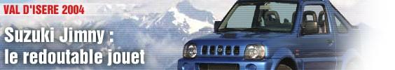 Essai Express / Suzuki Jimny, le redoutable jouet