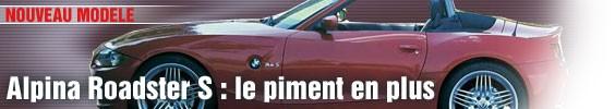 Alpina Roadster S : le piment en plus