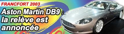 Aston Martin DB9 : la remplaçante