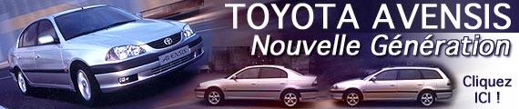 Avensis nouvelle génération