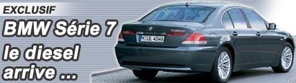 BMW Série 7 : voilà le diesel