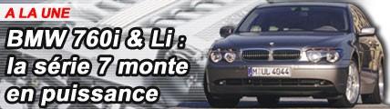 BMW 760i : la série 7 monte en puissance