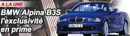 BMW Alpina B3 S : l'exclusivité en prime