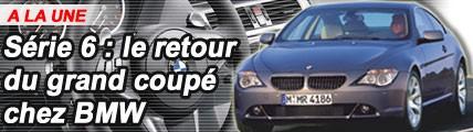 BMW Série 6 : le retour du grand coupé chez BMW