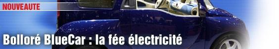 Bolloré BlueCar : la fée électricité