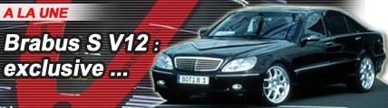 Brabus S V12 : le nec plus ultra