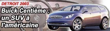 Buick Centième : SUV à l'américaine