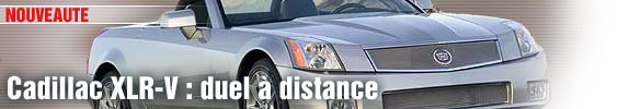 Cadillac XLR-V : duel à distance