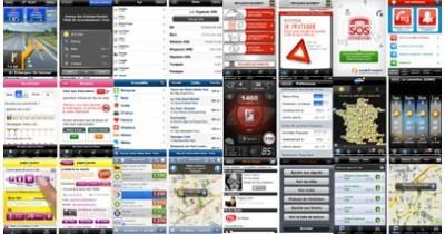 15 applications iPhone pour la voiture