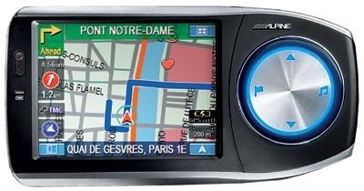 Alpine lance son premier système de navigation portable, le Blackbird