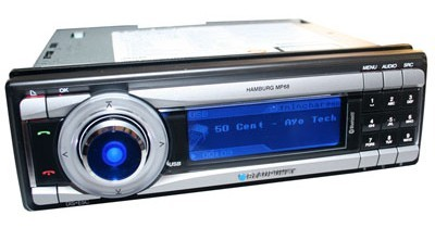 autoradio blaupunkt hamburg mp68 autodeclics. Black Bedroom Furniture Sets. Home Design Ideas