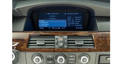 BMW propose un système audio compatible avec l'iPhone