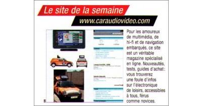 Caraudiovideo, site de la semaine dans AutoPlus