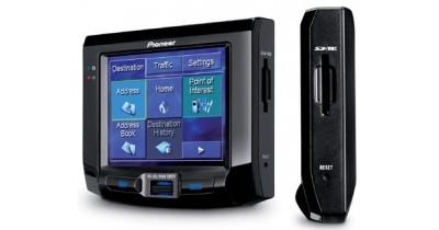 De nouvelles infos sur le système gps de poche Pioneer AVIC-S1
