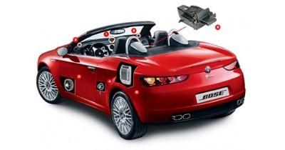 L'Alfa Romeo Brera roule en Bose