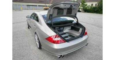 Mercedes CLS Alpine : système audio/vidéo 6.1