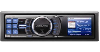 Première photo : autoradio Alpine 2007 compatible iPod