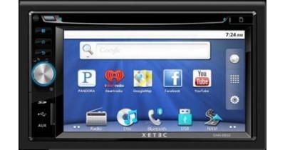 Un combiné multimédia double DIN Android chez Xetec