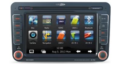 Un combiné multimédia spécial VW chez Caliber