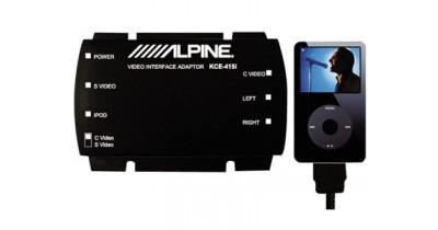 Une interface pour l'iPod vidéo chez Alpine