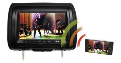 Caraudiovidéo : Concept Buy présente un appui-tête vidéo avec vidéo sans fil pour Smartphones