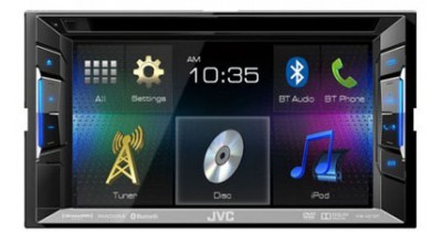 Caraudiovidéo : JVC annonce ses premiers autoradios 2015