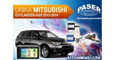 Caraudiovidéo : Paser présente une interface Unika pour le Mitsubishi ASX