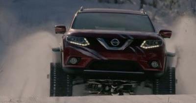 Le Nissan Rogue Warrior conceptest l'arme absolue pour attaquer les pentes enneigées !